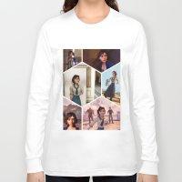 bioshock Long Sleeve T-shirts featuring Elizabeth Bioshock  by Yizhen Dong