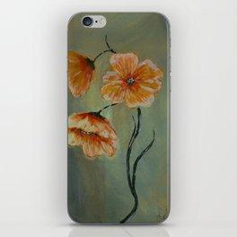 Golden California Poppies iPhone Skin