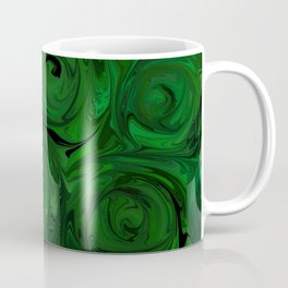 Emerald Green Roses Coffee Mug