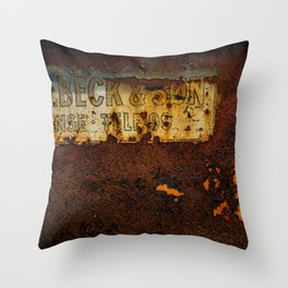 Holbeck & Son Throw Pillow