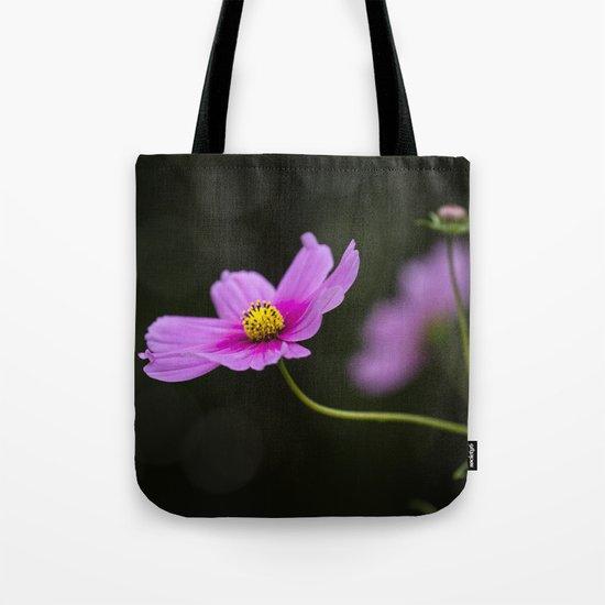 pink Cosmea summer flower Tote Bag