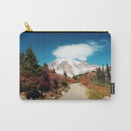 Mt Rainier in Autumn Carry-All Pouch