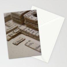 Book Art Maze 2 Stationery Cards