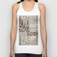 wood Tank Tops featuring Wood by LebensART
