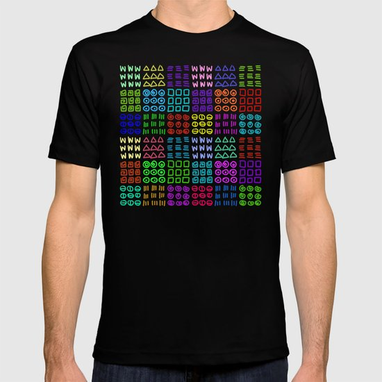 Aztec Wannabe (Black) T-shirt