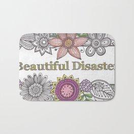 Floral Beautiful Disaster Bath Mat
