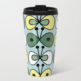 simply butterfly pattern Metal Travel Mug