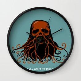Nightcall Skull Wall Clock