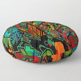 Street Art ATL Floor Pillow