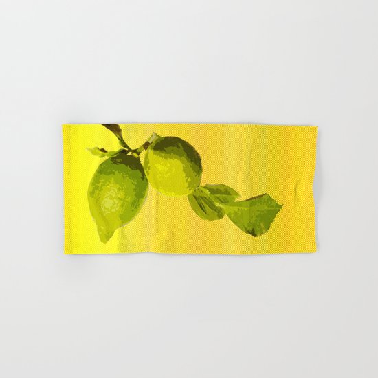 Summer Time Lime Hand & Bath Towel