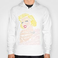verse Hoodies featuring Marilyn Verse by Kaitlyn Brown