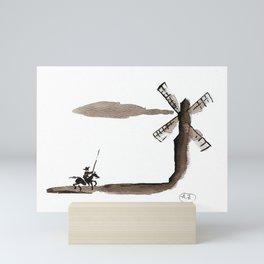 Don Quixote de la Mancha Mini Art Print