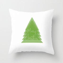 Merry Christmas Throw Pillow