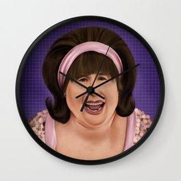 Edna Turnblad (Hairspray) Wall Clock