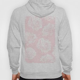 Pink Roses in Flamingo Pink Hoody