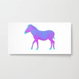 Zebra 10A Metal Print
