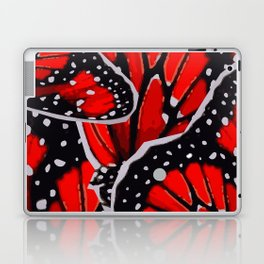 red monarch Laptop & iPad Skin