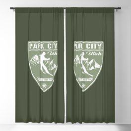 Park City Utah Blackout Curtain