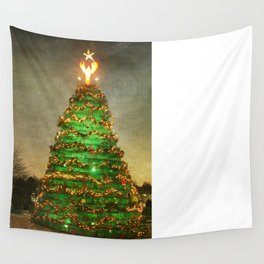 Rockland Lobster Trap Christmas Tree Wall Tapestry
