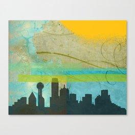 Locals Only: Dallas in Dreams Canvas Print