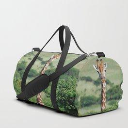 Giraffe Standing tall Duffle Bag