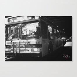 septa bus Canvas Print