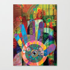 A View Of The Music Within My Soul Canvas Print