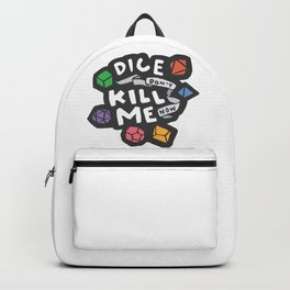Dice Don't Kill Me Now - Wildflower Backpack