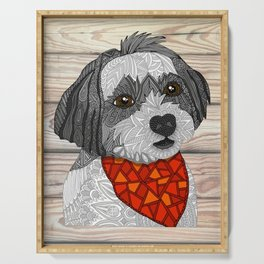 Max the Havanese Serving Tray