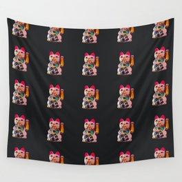 Maneki Neko Wall Tapestry