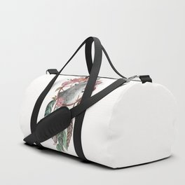 Wolf Dream Catcher Duffle Bag