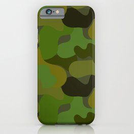 Camo-licious Collection: Gorgeous Green Camouflage Pattern iPhone Case