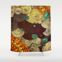 earth Shower Curtains featuring Earth by DuckyB