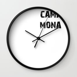 Camp Mona - Pretty Little Liars (PLL) Wall Clock