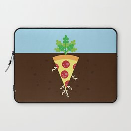 Pizza is a Vegetable Laptop Sleeve