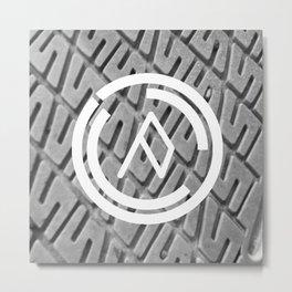 Ow Logo Two Metal Print