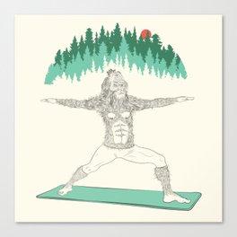 Yogi Sass Canvas Print