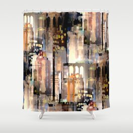 City Architecture Shower Curtain