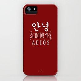 GO AWAY;2ne1 iPhone Case