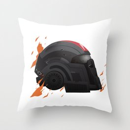 N7 Helmet Throw Pillow