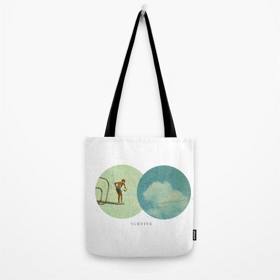 Survive   Collage Tote Bag