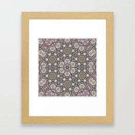 Mandala Of The Earth Framed Art Print