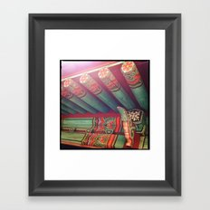 K-Temp Framed Art Print
