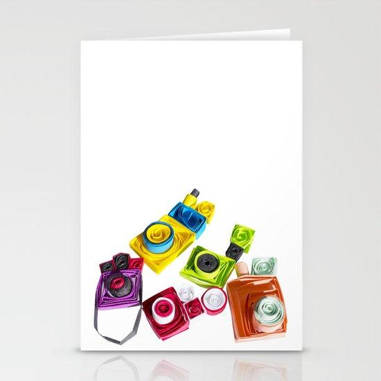 Cameras 2 Stationery Cards