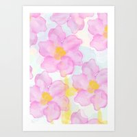 Dazed Flower Art Print
