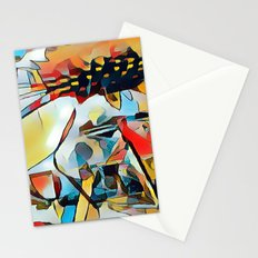 Daisy One Abstract Stationery Cards