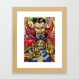 Dr. Strange, Sorcerer Supreme Framed Art Print
