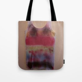 Rainbow-Spray Graffiti Art Print. Tote Bag