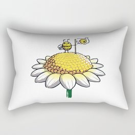 For the Hive Rectangular Pillow