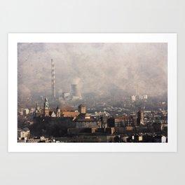 Wawel from above Art Print